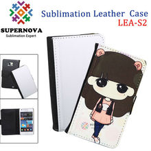For Samsung Galaxy S2 Sublimation Leather Case
