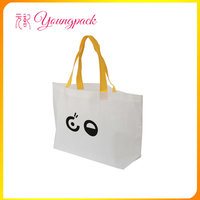 Promotional eco friendly tote nonwoven shopping bag
