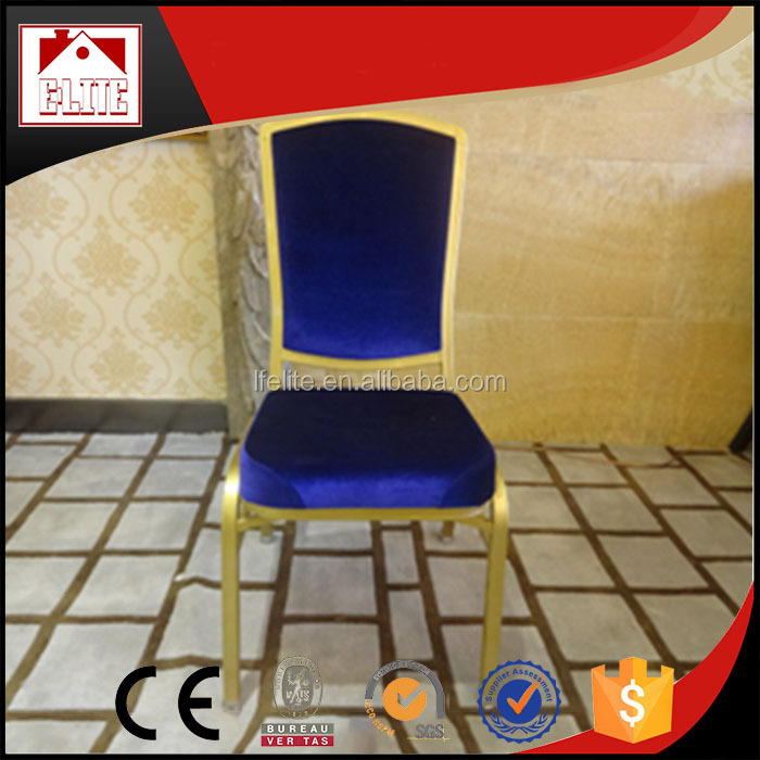 2015 China wholesale banquet chair seat cushions,price steel banquet chair