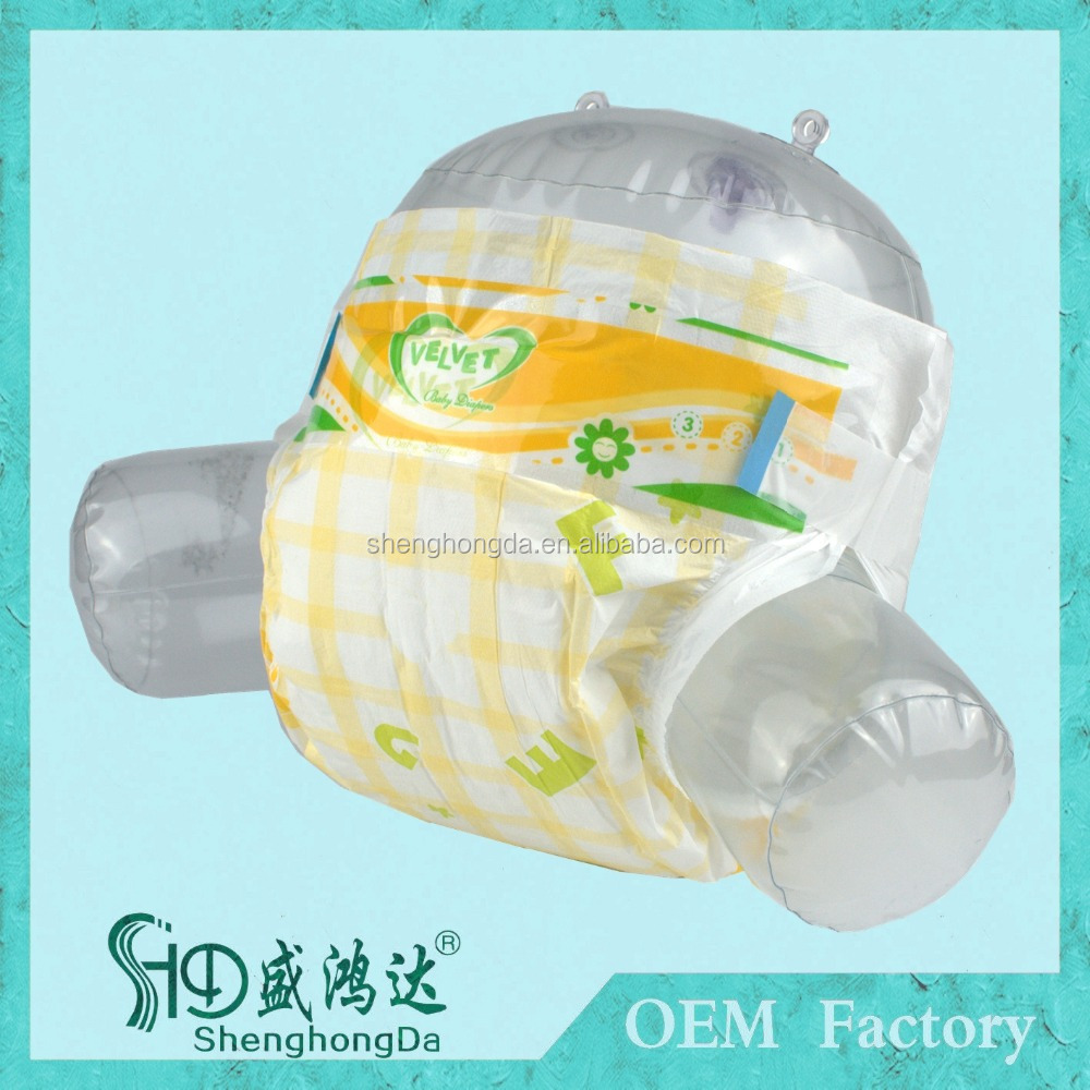 Best quality disposable baby diaper with leaking guard water proof for baby nappy factory