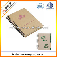 Office Supply Recycled Plain Spiral Notebooks