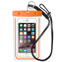 Factory Price PVC Waterproof Phone Case/Cell Phone Waterproof Dry Bag/Floating Waterproof Phone Bag