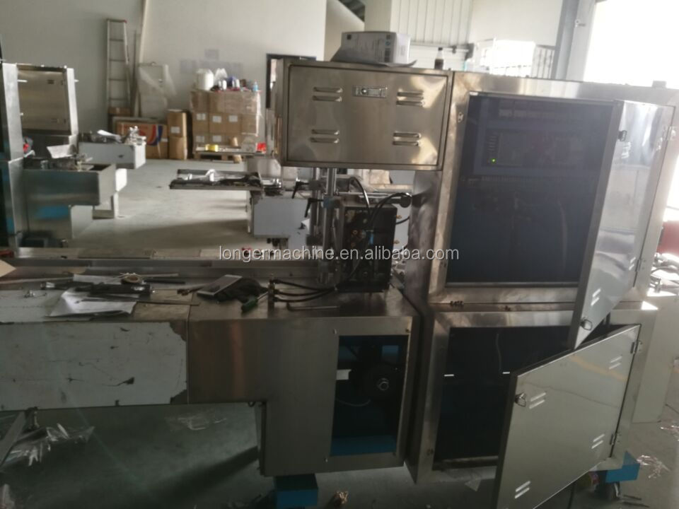 Automatic Perfume Overwrapper 3D Bopp Film Wrapping Tea Bag Condom Box Overwrapping Cellophane Packing Machine