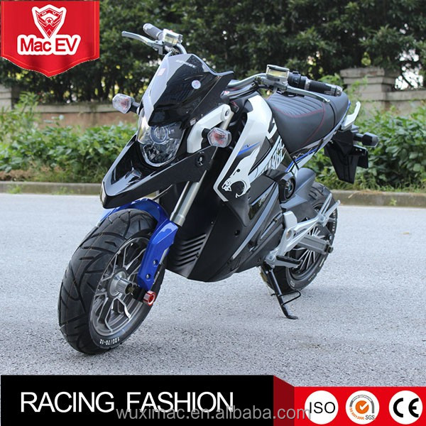 Outdoor sport good looking electric motorcycle