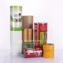 Moisture Proof Feature BOPP Material Food Packaging Plastic Roll Film