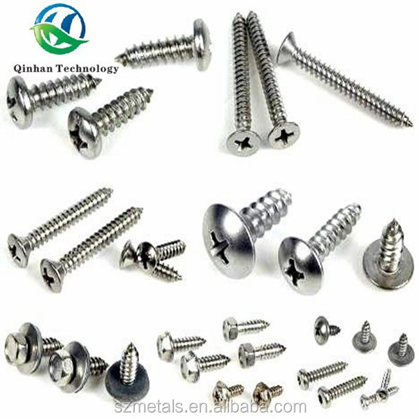 C1022A galvanized pan head self tapping screw