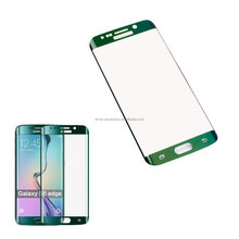 Full screen glass For Samsung Galaxy S6 edge tempered glass screen protector Curved design with retail package