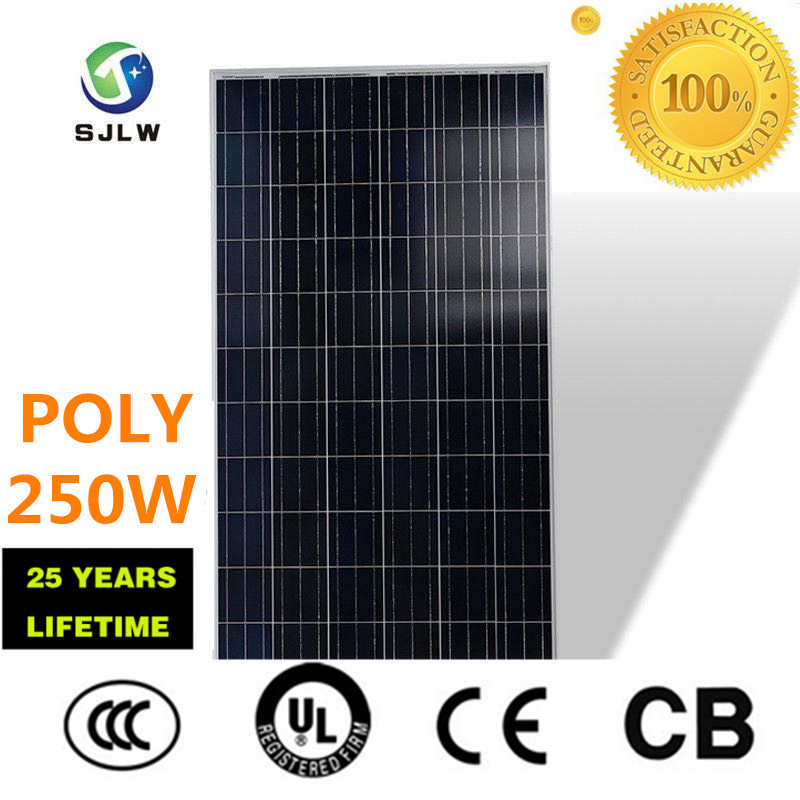 Europe 1kw solar panel 250w poly solar panel pv solar panel poly price hot selling for home use