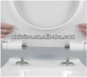 soft-close hinge for toilet seat