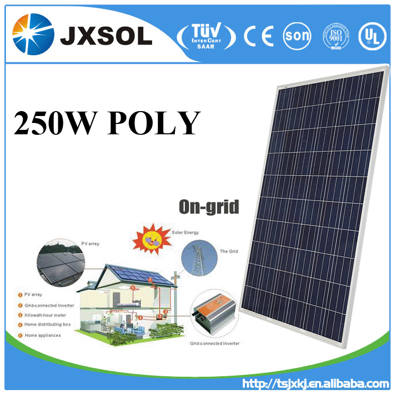 China solar products photovoltaic panel pv module with 25 years warranty