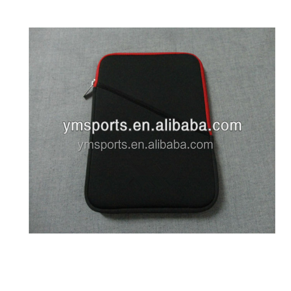 Customized soft waterproof laptop sleeve with zipper design high quality make in china