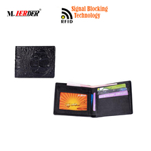 Guangzhou Factory Funny Style Magic Wallet Men with Emboss design