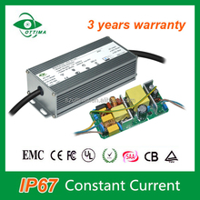 Constant Current 2400mA 36V 80W Led Driver Waterproof