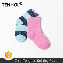 Wholesale china sex cut boy striped tube short socks