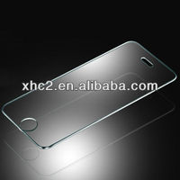 2.5D Tempered Glass Protection Screen with 6 x Button Sticker for iPhone 5