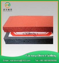 Factory manufacture hot sell silicone foam sheet strip