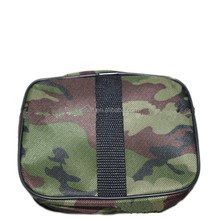 High quality camouflage first aid kit with booklet