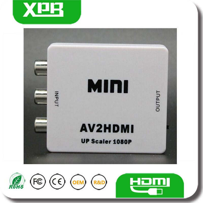 Cheap Audio Converter HDMI to RCA Converter Box China Supplier