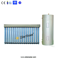100L balcony haining solar power system split solar water heater