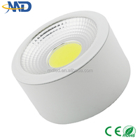 High power 10W COB led downlight 90-277V 3 years warranty Surface up and down wall light