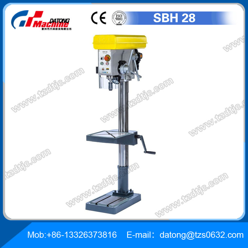 High Qulity Small Drill Press SBH28 drilling hole machine