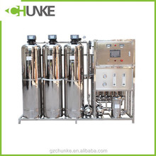 2000L SS water filter tank with automatic valve and filter media for water treatment system