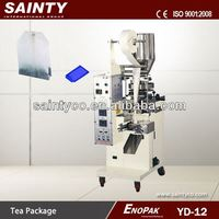 Granules/Spices/Tea Packing Machinery YD-12 Double Chamber Teabag Packing Machine