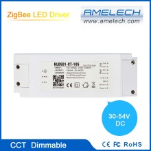 new hot 2 channels zigbee dimmable 30w 40w 700ma led driver 0-10v dimmer