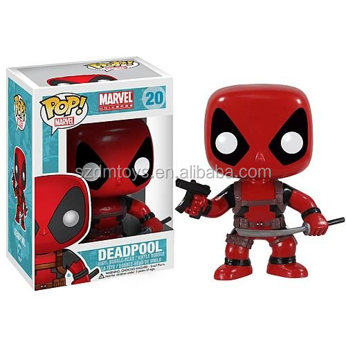 PVC plastic Marvel deadpool custom action figure maker