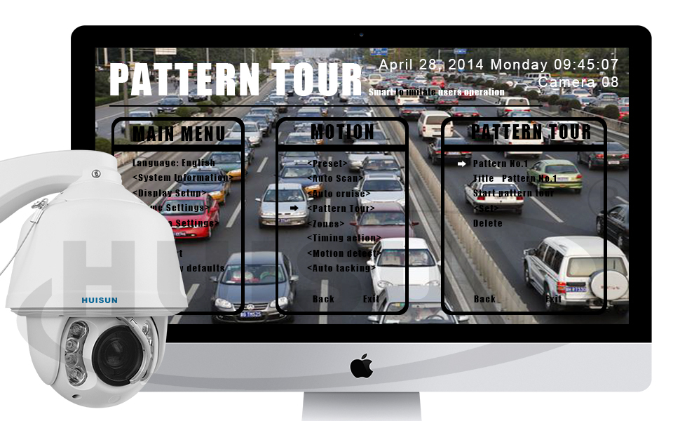 2015 Wholesale Best Prices!!! motion sensor camera outdoor