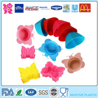 Custom Made Multi Shapes Silicone Cake Pop Mold,Small Silicone Baking Moulds