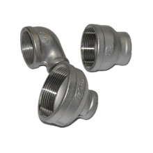 Good quality 304 and 316 pipe fittings union pipe connector steel connector connector fittings