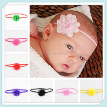 Hot Brand 21 Color Chiffon Flower Baby Girls Lace Infant Weave children Headband