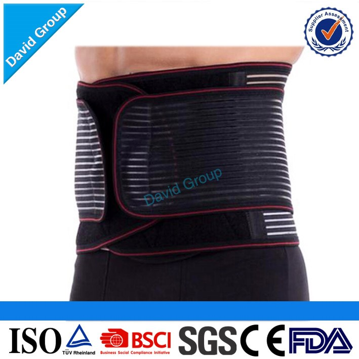 Wholesale Medical Adjustable Neoprene Waist Belt Back Support Brace Band