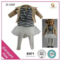"new design american girl doll clothes wholesale/wholesale 18"" doll accessories/hot new product 18"" doll clothes"