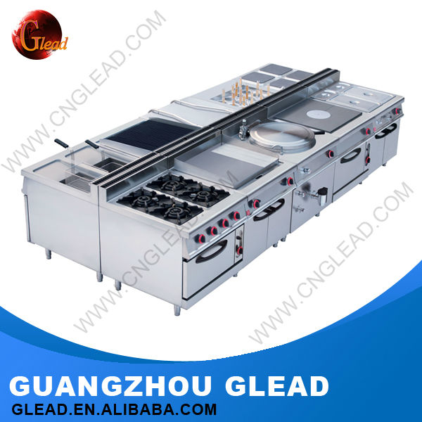 Commercial Heavy Duty indian restaurant kitchen equipments