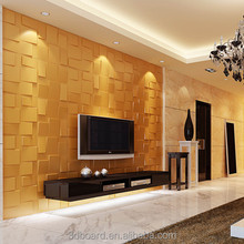 3d bamboo fiber green material building material decorative wallpaper for bar