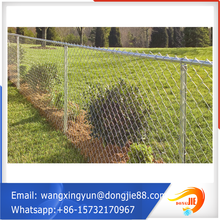 galvanzied chain link fencing in metal wire mesh