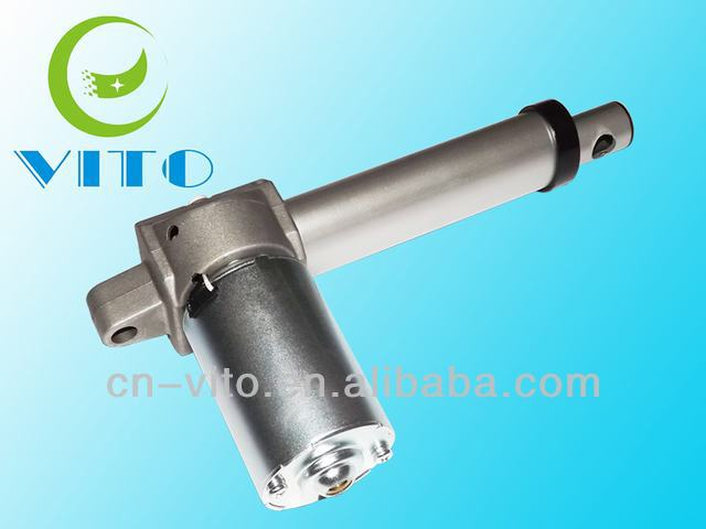 linear actuator with high load capacity and compact size