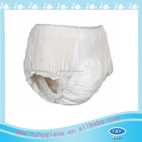 disposable panty with nonwoven backsheet made in china