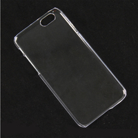 Factory Wholesale Mobile Phone Crystal Clear Hard Transparent PC Houing Case for iPhone 6 6s