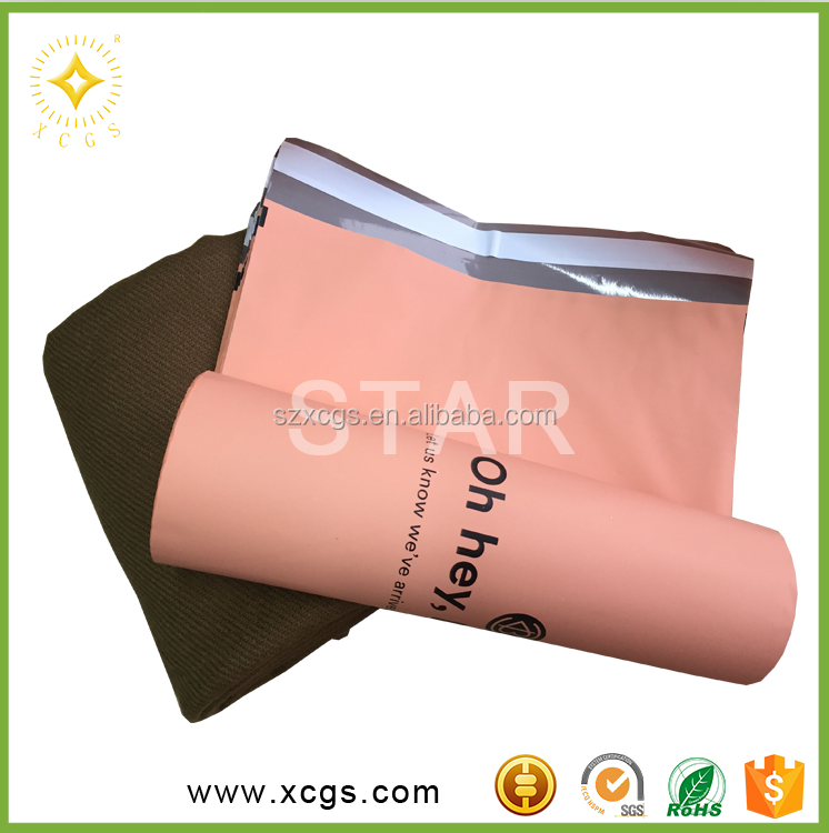 Grey Plastic Mailing Bags/ Custom Mailing Bags/ Clear Poly Bags & Poly Envelopes