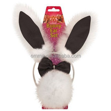 Free shipping headband wholesale cheap children cute hair bow bunny ears headbands H5204