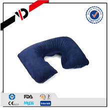 Comfortable inflatable jumping bath neck pillow