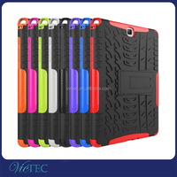 Dual Colorful 9.7 inch shockproof case for tablet Samsung Galaxy Tab A 9.7 T550