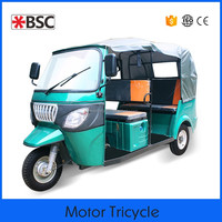 Easy to use bajaj hard canvas three wheel motorcycle