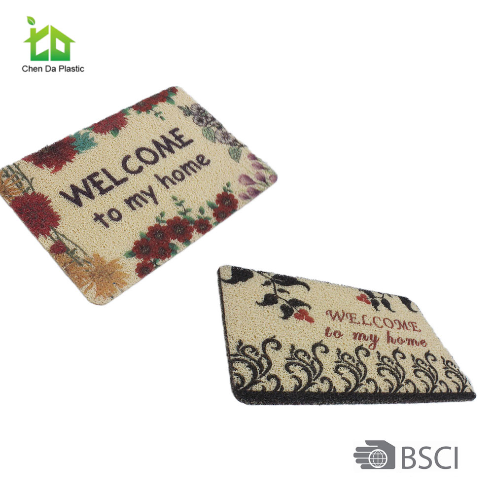 Coir mat welcome custom door mat door mat