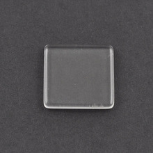 Factory directly Transparent Clear Loose fashion glass cabochon for metal base