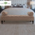 Wholesale Modern fabric botton tufting Bolster bench upholstery Incense Tan bed end stool bedroom set Furniture
