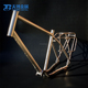 Gr9 titanium tubes for Travel mountain bike frame with great price